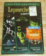 New And Sealed Leprechaun Triple Feature Dvd Set