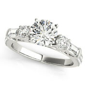 1.67 Ct Real Diamond Wedding Ring For Sale Solid 950 Platinum Rings Size 5 6 7