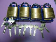 4 New Abus Ic Best Cyl. With H Core And 1 Core And 10 Keys Padlock  Locksmith