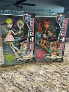 Monster High Ghoul Sports Lot Toralei And Spectra Nib