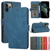 For Iphone 12 11 Pro Max Xr X 7 8+ Leather Wallet Flip Magnetic Back Cover Case