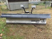Same As New Used During One Snow Storm Snow Dogg Plow And Mount With Lighting