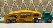 Vintage 1950and039s Structo Toy Company Auto Transport Trailer C-3044