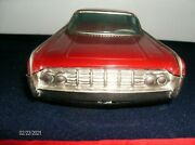 1963 Lincoln Continental Tin Vintage Rosko Japan Battery Op Toy Car
