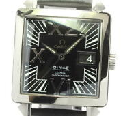 Omega De Ville Co-axial X2 7813.50.31 Big Date Automatic Menand039s Watch_598529