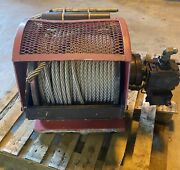 Dinamic Oil A120-4 Dx Sp Hydraulic Winch, 300' X 5/8 Ss Cable