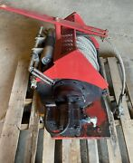 Dinamic Oil A120-4 Hydraulic Winch, 300' X 5/8 Ss Cable Used