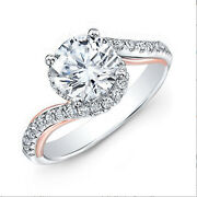 Natural 1.00 Ct Diamond Engagement Ring Solid 950 Platinum Rings Size 6 7 8 9 10