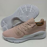 Under Armour Ua Curry 4 Low Sample Basketball Shoes Mens Size 8 Pink 3021707-601