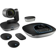 Logitech Group With Microphones Hd Video Conferencing System With 10x Zoom