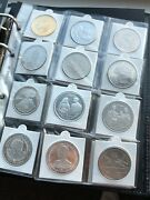 1998 - 2013 South Georgia And Sandwich Silver Cuni 25 Andpound2 Coins Collection Job Lot