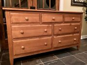 Ethan Allen Country Colors Dresser Wood 7 Drawer 214 Wheat