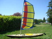 Deluxe Expedition Sail Rig For Kayak / Canoe. Includes Mounting Kit If Needed.