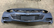 New Primered Front Bumper Cover 2017-2018 Chevy Malibu + Upper/center Grille