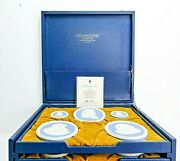 Wedgwood Collection Of 14 Pale Blue And White Jasper Portrait Medallions Ltd Edt