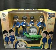 Mc Farlane Toys The Beatles Deluxe Boxed Set Pvc Figure Unopened
