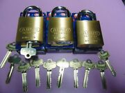 3 New Abus Ic Best Cyl. With H Core And 1 Core And 10 Keys Padlock  Locksmith