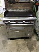 36x24 Flat Top Griddle Grill Counter 208v 1 Phase Electric Commercial Restaurant