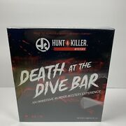 Hunt A Killer Death At The Dive Bar, Immersive Murder Mystery Game - New 2020