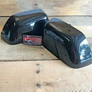 Brand New Oem 17+ Ford Super Duty Painted To Match Mirror Caps - Agate Black