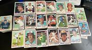 1978 Topps Baseball- Lot Of 100 Different- Average- Ex+- Semi Stars And Commons