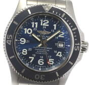 Breitling Super Ocean Ii A17392 Navy Dial Automatic Menand039s Watch_604222