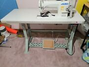 Juki Ddl-8700 Industrial Sewing Machine W/ Binding Attachment - 1 Owner