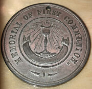 Church Of The Holy Family Ihs Chicago Ill, Memorial Of First Communion Medal