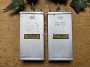 1940and039s Western Electric Capacitor Cond 5uf Tested Matched Pair