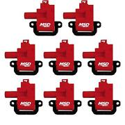 Msd 82628 Blaster Coil For 98-06 Gm Ls1/ls6 Engines, 8,pack