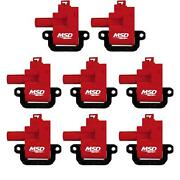Msd 82628 Blaster Coil For 98-06 Gm Ls1/ls6 Engines 8pack