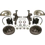 Oe 2 Inch Drop Spindle Kit, 1960-62 Chevy C10 Truck, 5x5 Bp