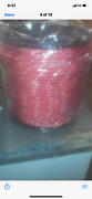 1/2 Polyester Sailboat Rigging Double Braid Rope 600and039 Red