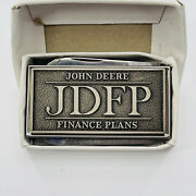 John Deere Financial Plans Jdfp Money Clip With Knife And File Jd Dealer Employee