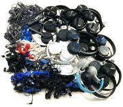 Lots Of 71 Sony Headphones And Earpieces For Parts Or Repair