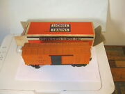 Lionel 3464 A.t. And S.f. Operating Box Car In Box