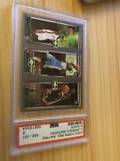 2003 Topps Rookie Matrix Lebron James Carmelo Anthony Dwayne Wade Psa Nm-mt 8 +