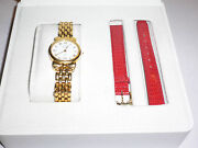 Nina Ricci Paris Ladieand039s Wristwatch Model S954 With Original Box/swiss Made