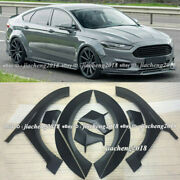 For Ford Fusion 2014-2018 Primer Fender Flare Kit Wheel Arch Cover Trim 10x