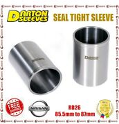 Darton 3.345 Bore 0.118 Wall Seal Tight Sleeves Df For Nissan Rb26 Skyline
