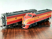 Athearnhosouthen Pacific Passenger Cars F7a And F7b Diesels + 5 Cars 7 Car Lot