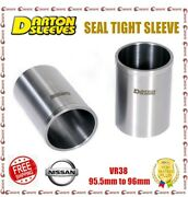 Darton 3.745 Bore 0.112 Wall Seal Tight Sleeves For Nissan Vr38 Gt-r R35 3.8l