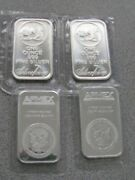 2 Apmex Bars 2 Silvertowne Bars. 4 Total Bars Sealed Silver One Ounce Bars