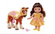 Disney Princess Belle And Philippe Doll And Horse Set Toddler