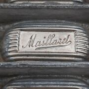 Antique Chocolate Candy Mold Maillard Chocolate Confectionary Company Nyc 1890and039s