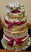 Money Cake By Ctm With Real Money Handmade Gift For Any Occasion Big Cakes