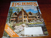 Vintage 2008 Annual Buyer's Directory  Log Homes Illustrated  Magazine