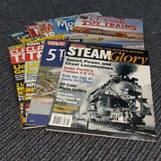 Model Railroader Magazine Classic Toy Trains Mag Mixed Lot Electric Train Hobby