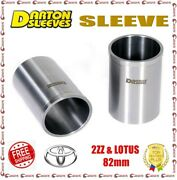 Darton 3.200 Bore 0.091 Wall Manufactured Sleeves Df For Toyota Lotus 2zz