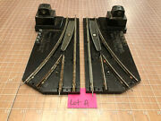 American Flyer S Train Remote Powered Left And Right Switch Track 720 720a - Lot A